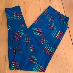 LuLaRoe soft leggings size TC new
